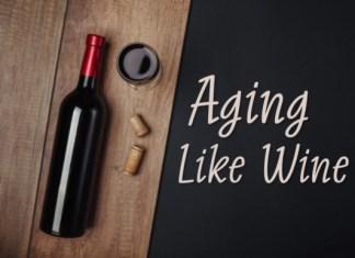 Aging Like Wine Font