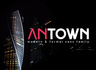 Antown Font