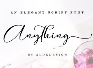 Anything Font