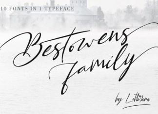 Bestowens Font