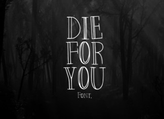 Die for You Font