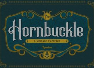 Hornbuckle Font