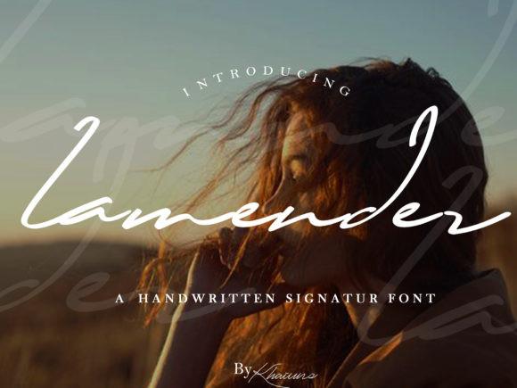 Lamender Font
