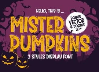 Mister Pumpkins Font