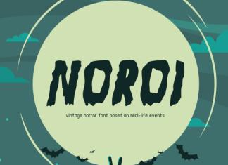 Noroi Font