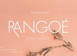 Rangoe Font