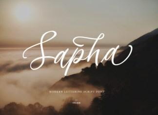 Sapha Font