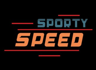 Sporty Speed Font