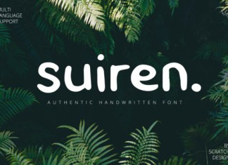Suiren Font