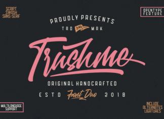 Trushme Font