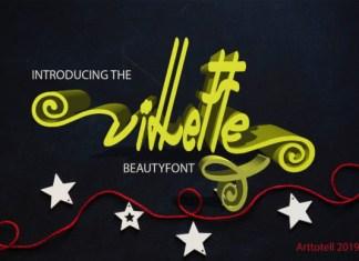 Villette Font