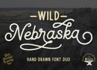 Wild Nebraska Font