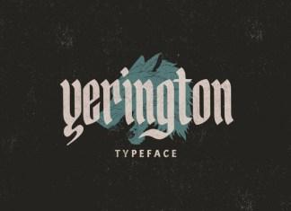 Yerington Font