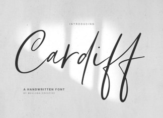 Cardiff Font