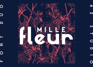 Mille Fleur Font