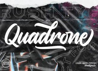 Quadrone Font