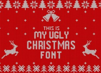My Ugly Christmas Font