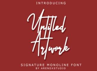 Untitled Artwork Font