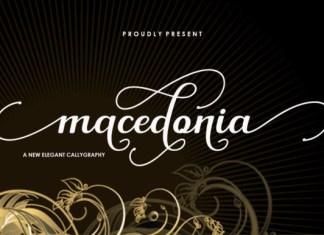 Macedonia Font