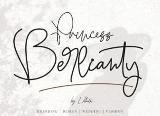 Princess Berlianty Font