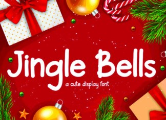 Jingle Bells Font