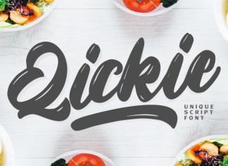 Qickie Font