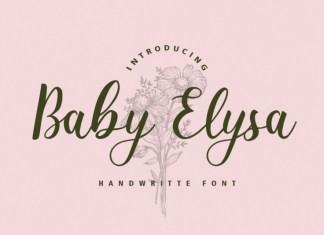 Baby Elysa Font