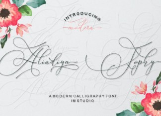 Alindiya Sophy Font