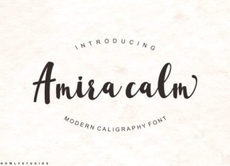 Amira Calm Font