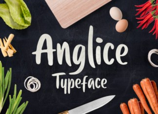 Anglice Font