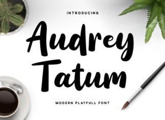 Audrey Tatum Font