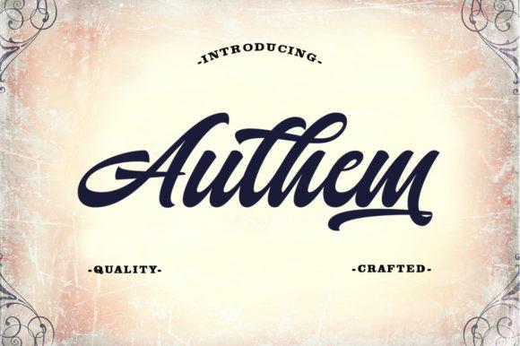 Authem Font