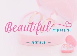 Beautiful Moment Font