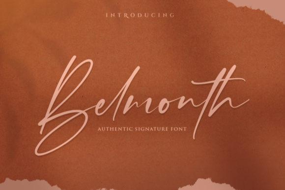 Belmonth Font