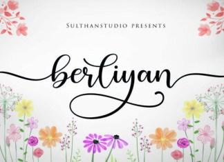 Berliyan Font