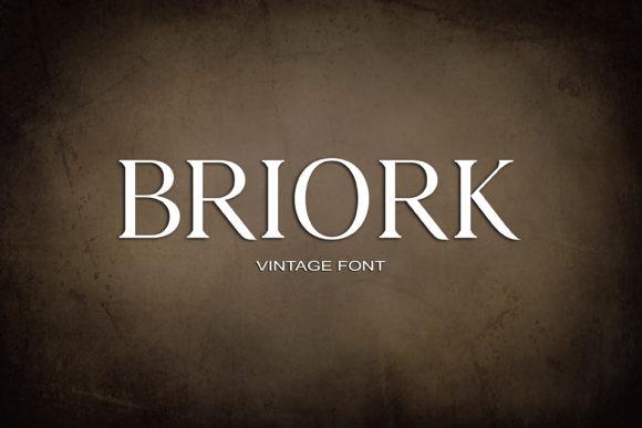 Briork Font