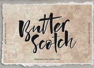 Butterscotch Font