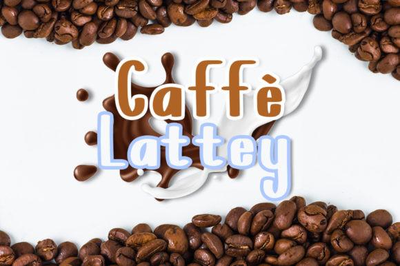 Caffe Lattey Font