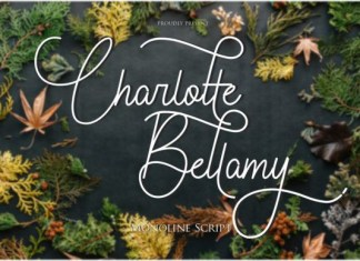 Charlotte Bellamy Font