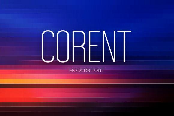 Corent Font