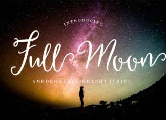Full Moon Font