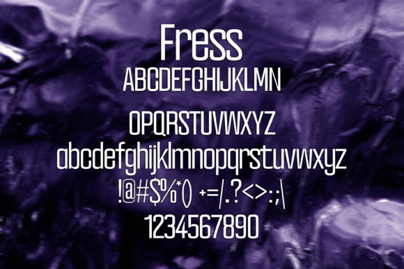 Fress Font