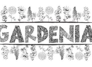 Gardenia LF Font
