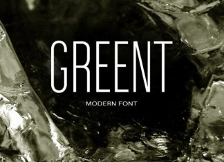 Greent Font