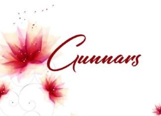 Gunnars Font
