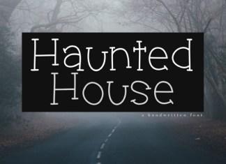 Haunted House Font