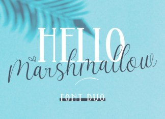 Hello Marsmallow Duo Font