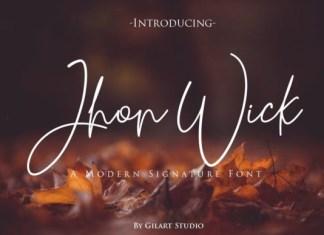 Jhon Wick Font