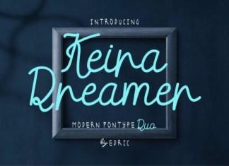 Keira Dreamer Font