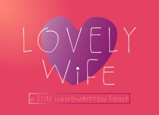 Lovely Wife Font